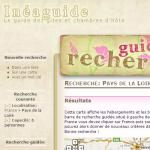 Inéaguide - Exemple de site utilisant Faceted Search avec Views et Google Maps
