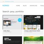 Konigi - Exemple de site utilisant Faceted Search